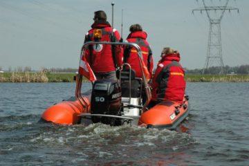 Lifeguards op weg naar de thuishaven.